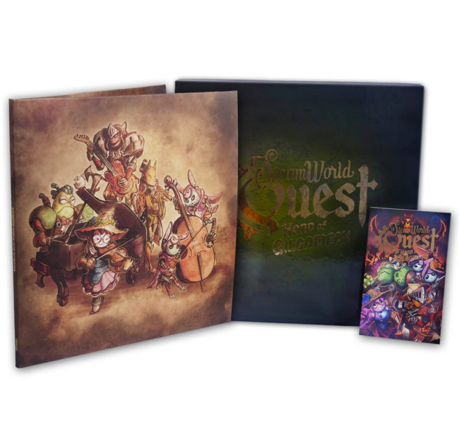 Read more about the article Steamworld Quest: Collector's Edition доступен для покупки
