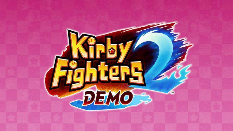У Kirby Fighters 2 появилась демо-версия
