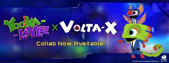 Коллаборация Volta-X c Yooka-Laylee доступна с новым обновлением!