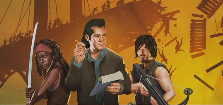 Bridge Constructor: The Walking Dead первый показ геймплея