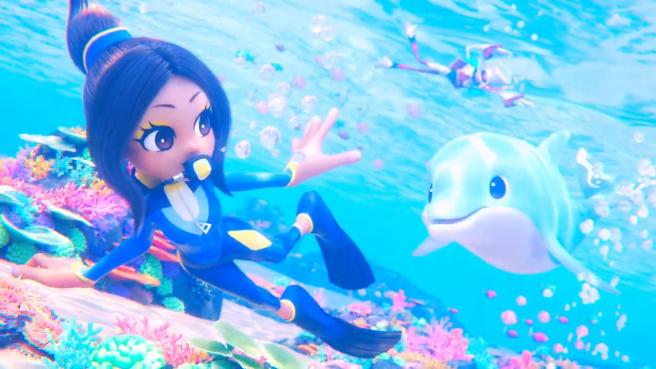 "Новый трейлер Balan Wonderworld – ""Chapter 2: The Dolphin and the Diver"""