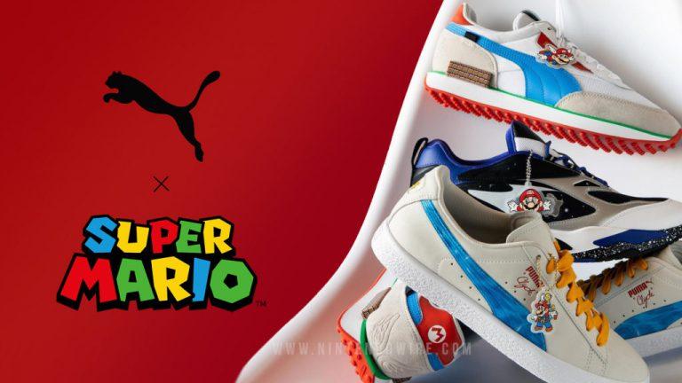 Первый взгляд на коллаборацию Puma x Super Mario