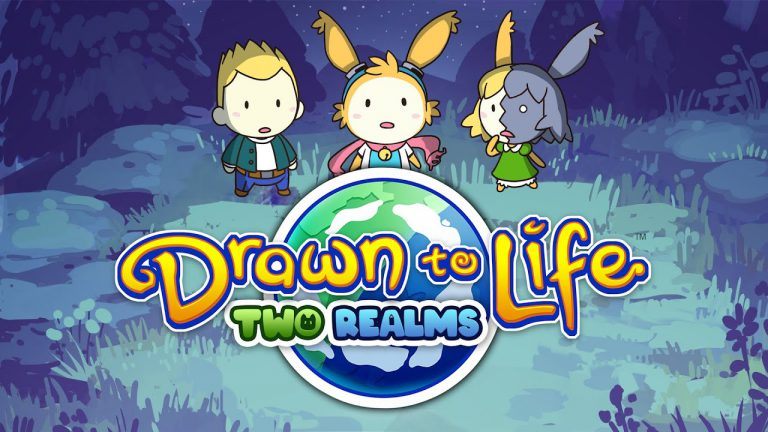 Трейлер Drawn To Life: Two Realms, раскрывающий выход на Switch в декабре✏