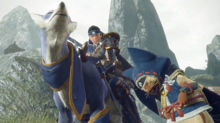 Capcom опубликовала концепт арты брони Палико и Паламута