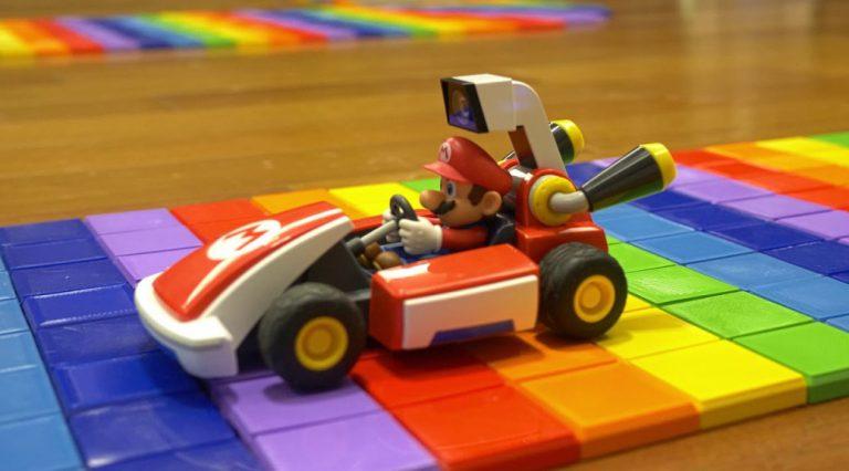 Rainbow Road для Mario Kart Live: Home Circuit!