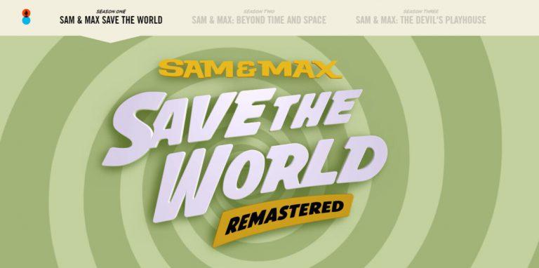 Анонсирован ремастер Sam & Max Save the World для Switch!