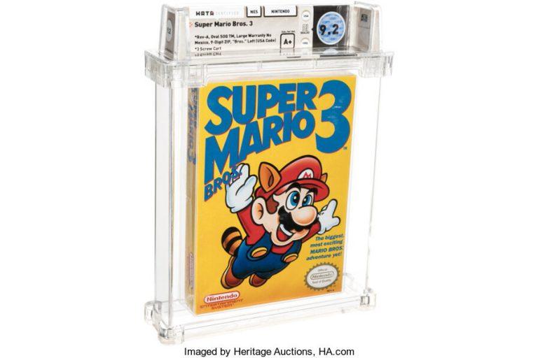 Super Mario Bros. 3 оказалась самой дорогой игрой и побила мировой рекорд!
