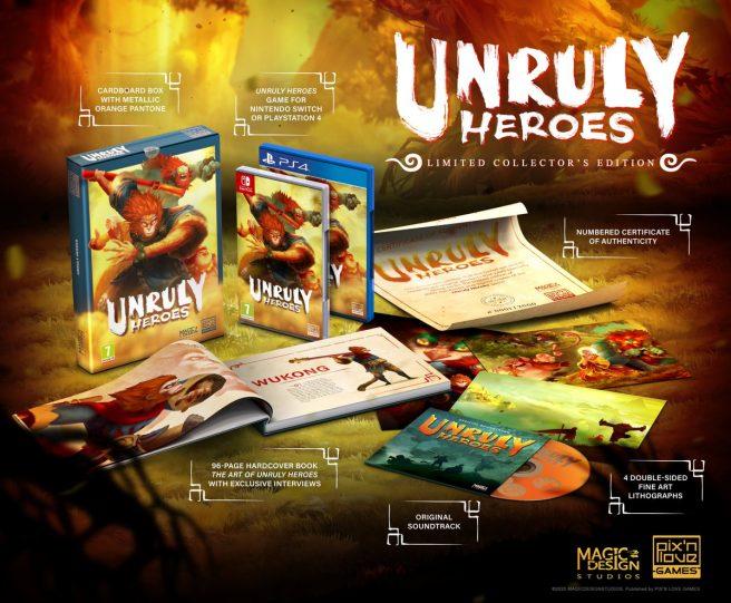 Unruly Heroes получит физическое издание!