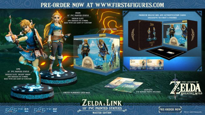 Read more about the article First 4 Figures показала новые фигурки по Breath of the Wild