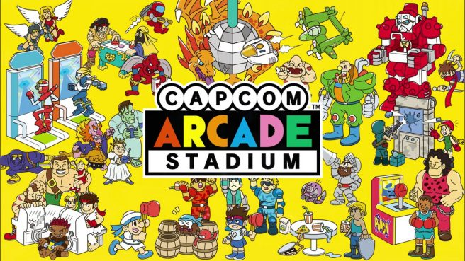 Capcom Arcade Stadium – полная линейка игр