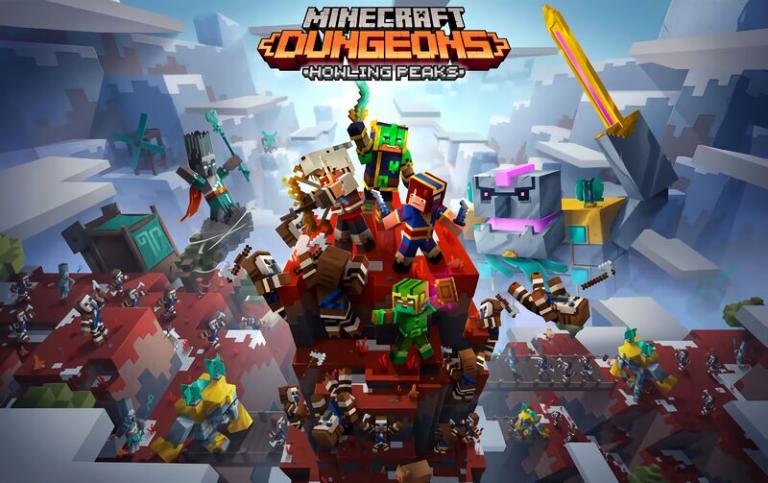 Трейлер нового DLC для Minecraft Dungeons