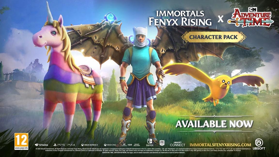 Adventure Time в Immortals Fenyx Rising