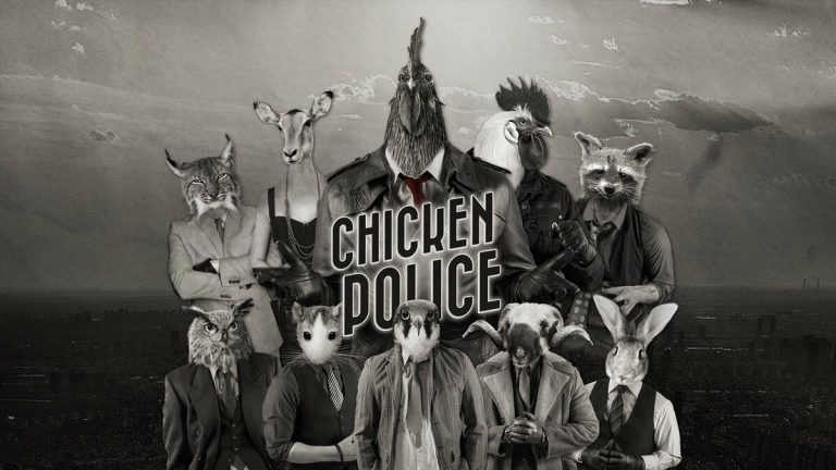 Обзор Chicken Police – Paint it RED! – Этюд в багровых тонах