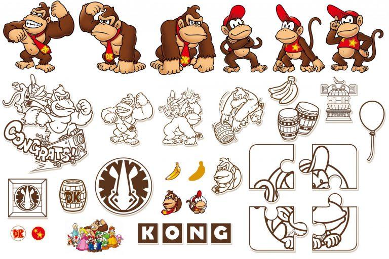 Датамайнеры вытащили стикеры с Донки Конгом из мобильного приложения Super Nintendo World!