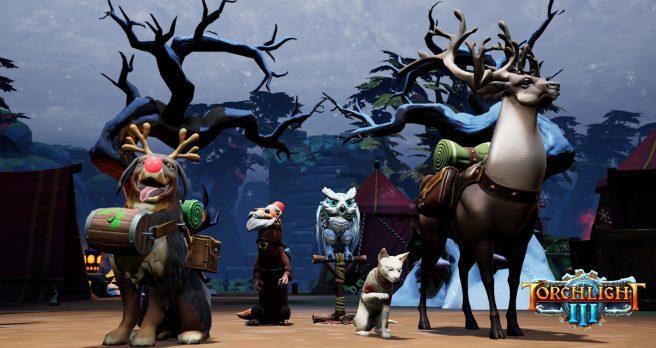 """Torchlight III получает обновление """"Snow & Steam"""""""
