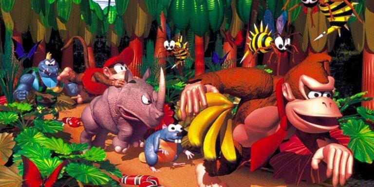 Бывший художник Rare показал наброски оригинального Donkey Kong Country