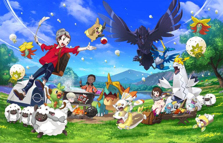 Новое событие в Pokemon Sword/Shield