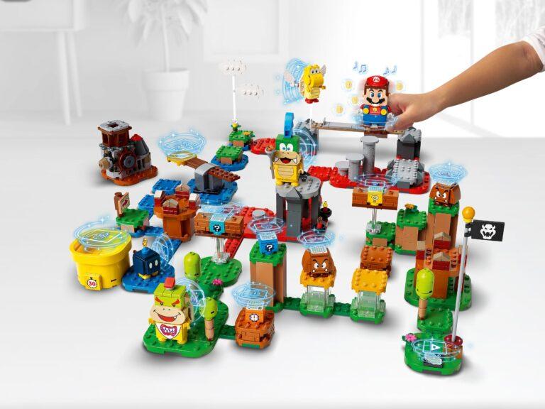 Nintendo опубликовала новый рекламный ролик для LEGO Super Mario