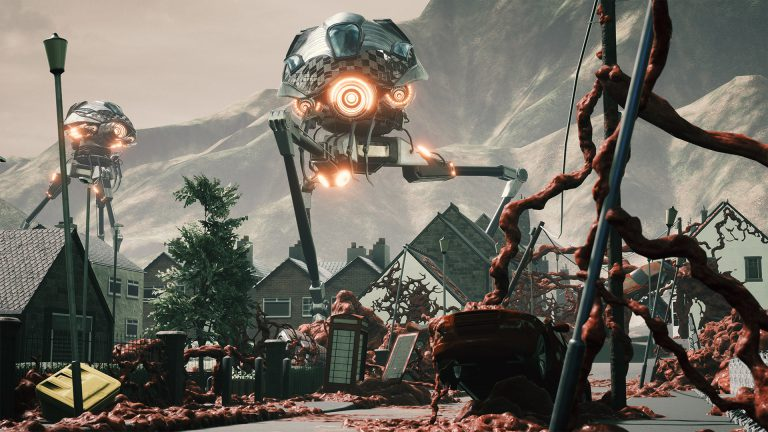 Grey Skies: A War of the Worlds Story выйдет на Switch