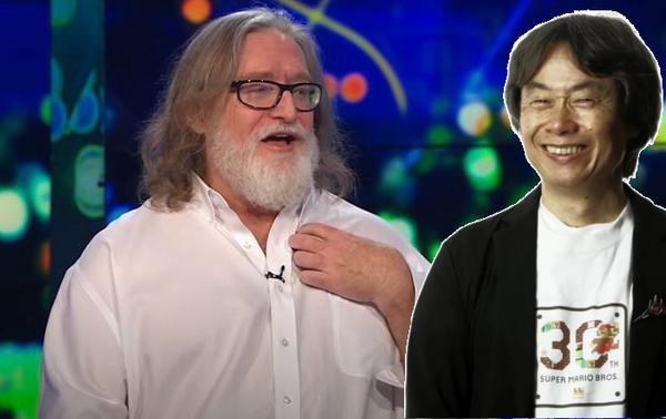 Гейб Ньюэл рассказал, как проекты Шигеру Миямото повлияли на его взгляд на игры