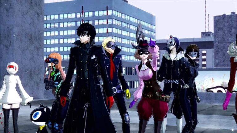 Новый трейлер Persona 5 Strikers