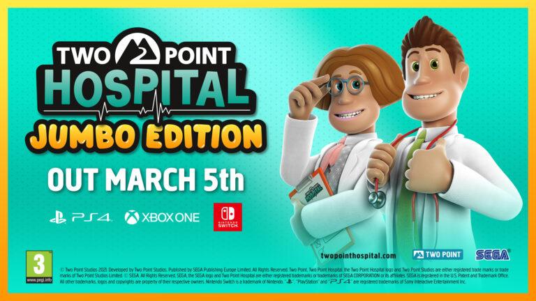 Two Point Hospital – издание JUMBO Edition для консолей будет выпущено 5 марта