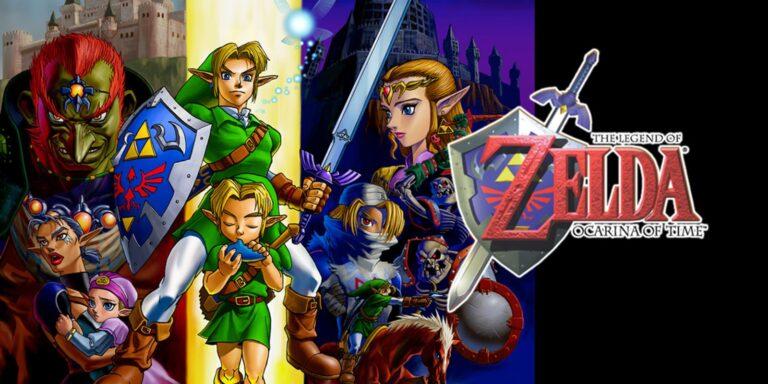 Раннюю сборку The Legend of Zelda: Ocarina of Time слили в сеть