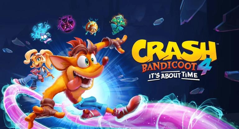 Crash Bandicoot 4 выйдет 12 марта на Switch