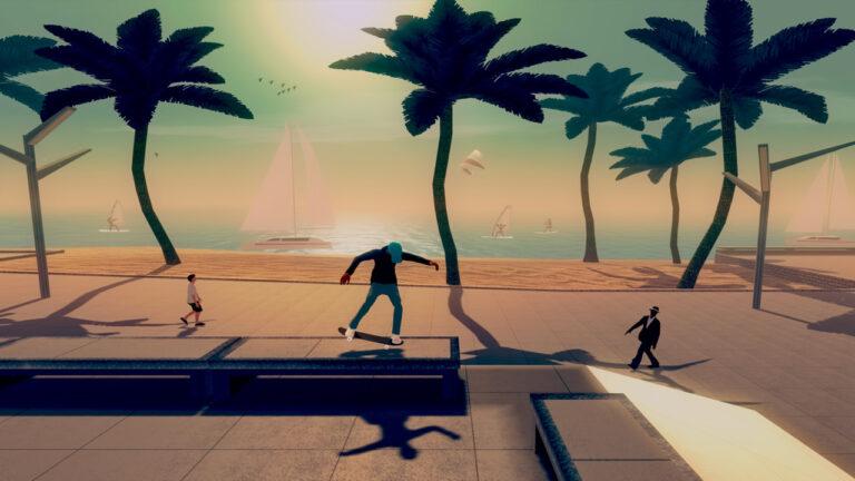 Skate City выйдет на Nintendo Switch