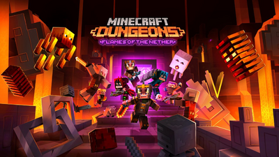 Трейлер Flames of The Nether для Minecraft Dungeons