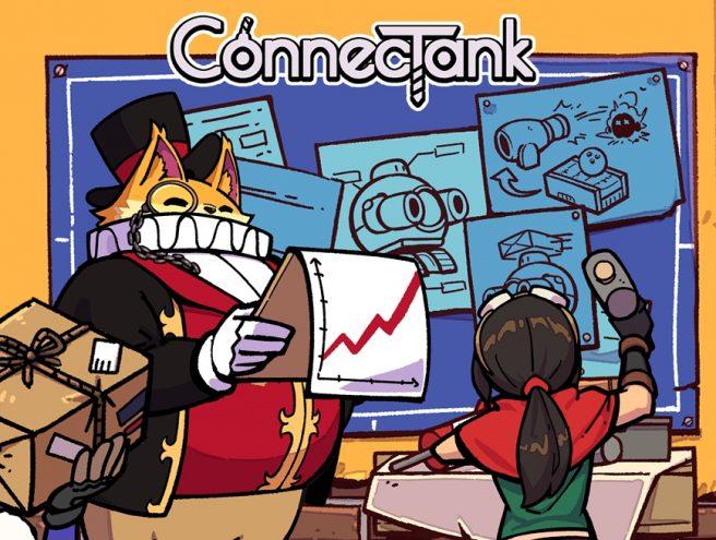 Анонсирована приключенческая 2D-игра ConnecTank для Switch