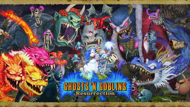 Кадры игры Ghosts 'n Goblins Resurrection