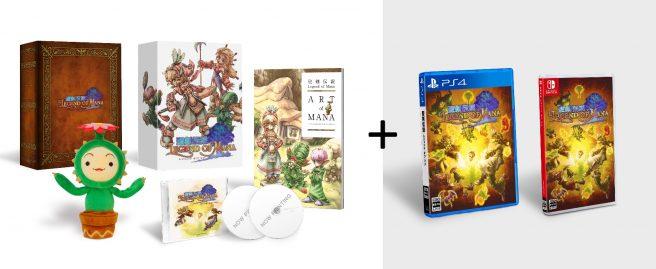 Ремастер Legend of Mana будет выпущен на физ.носителях в Японии вместе с коллекционным изданием