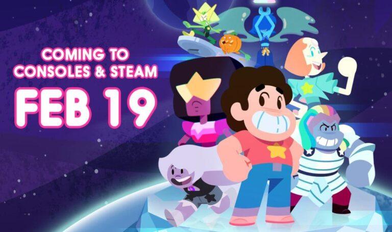 Steven Universe: Unleash the Light выйдет на Switch 19 февраля