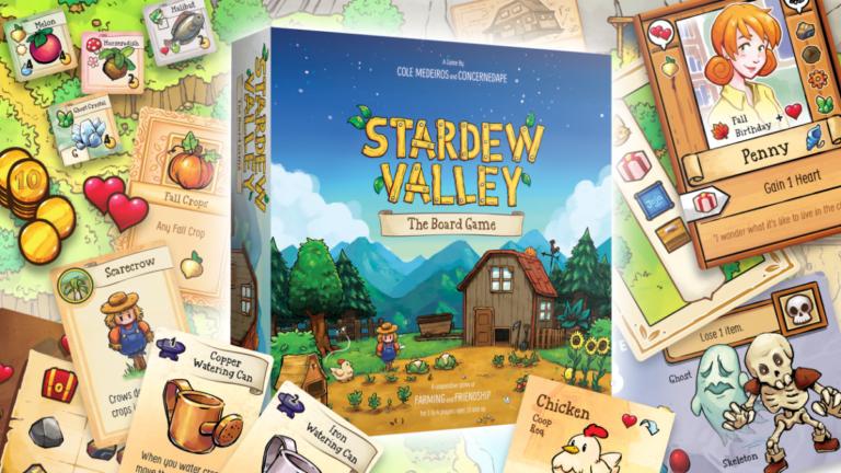 Анонсирована настольная игра Stardew Valley