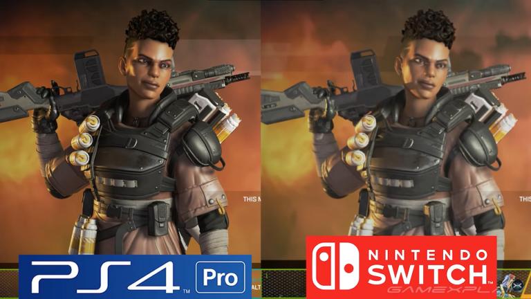 Сравнение версий Apex Legends на Switch и PS4 Pro