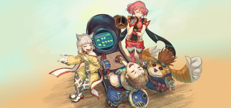 Monolith Soft поделилась новым артом по Xenoblade Chronicles 2