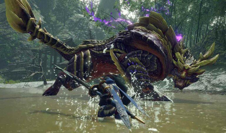 Для Monster Hunter: Rise вышел патч 1.1.1