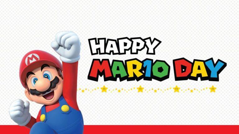 Наступил День Марио!