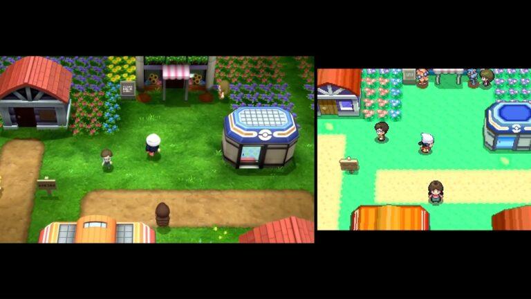 GameXplain сравнили новые ремейки Pokemon с оригиналом