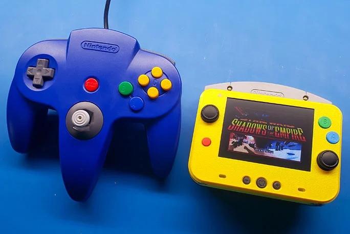 Фанат собрал самую маленькую Nintendo 64 в мире!