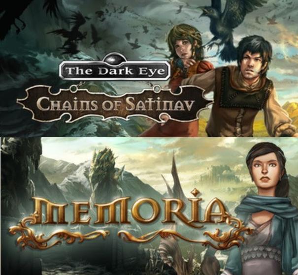 The Dark Eye: Chains of Satinav и Memoria — обзор
