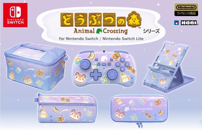 Hori показали пять новых аксессуаров в дизайне Animal Crossing!