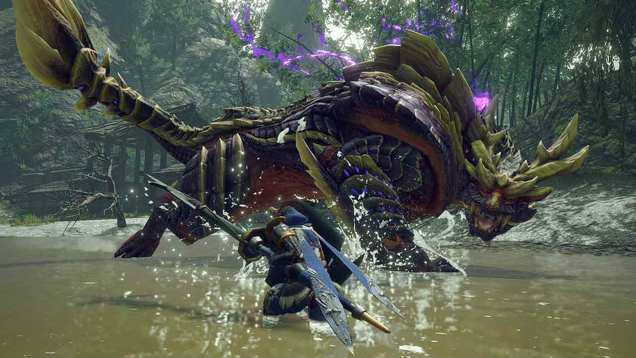 You are currently viewing Digital Foundry выпустила новый ролик с техническим разбором Monster Hunter Rise