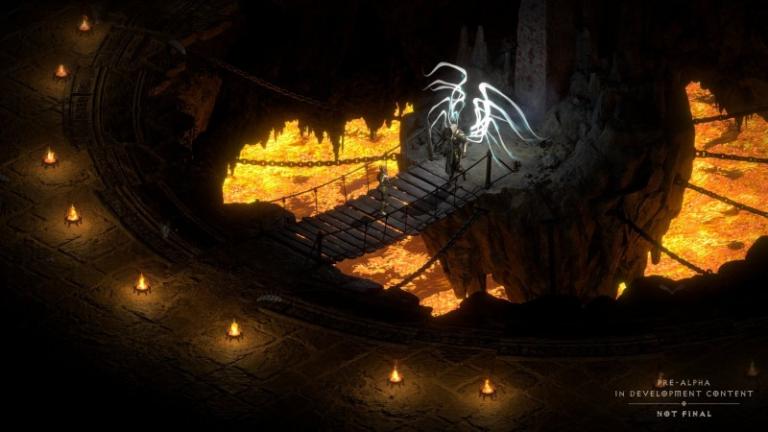 Новый геймплей Diablo II: Resurrected
