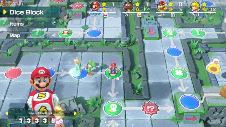 В Super Mario Party добавили online мультиплеер