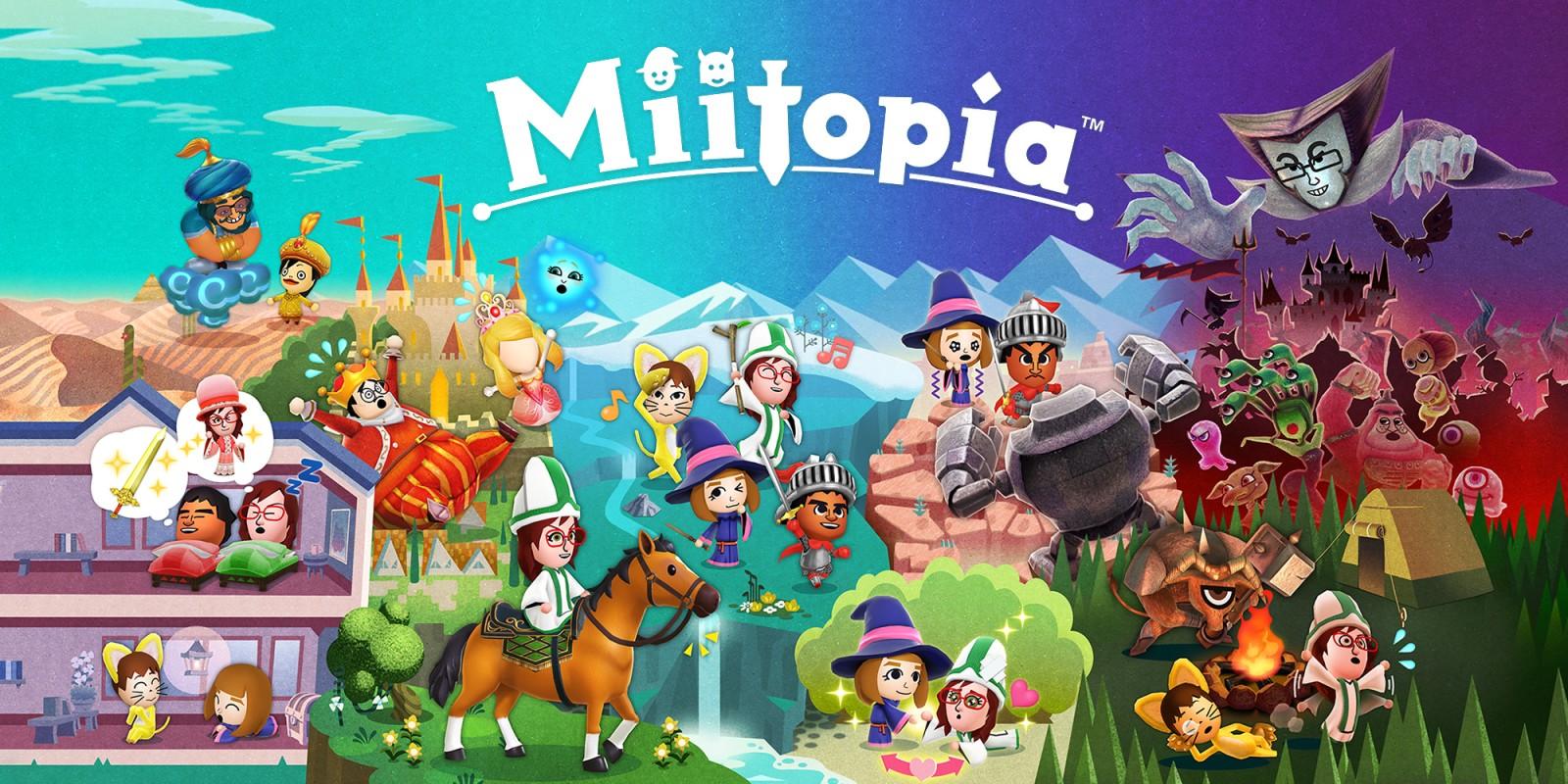 Появился новый трейлер Miitopia!