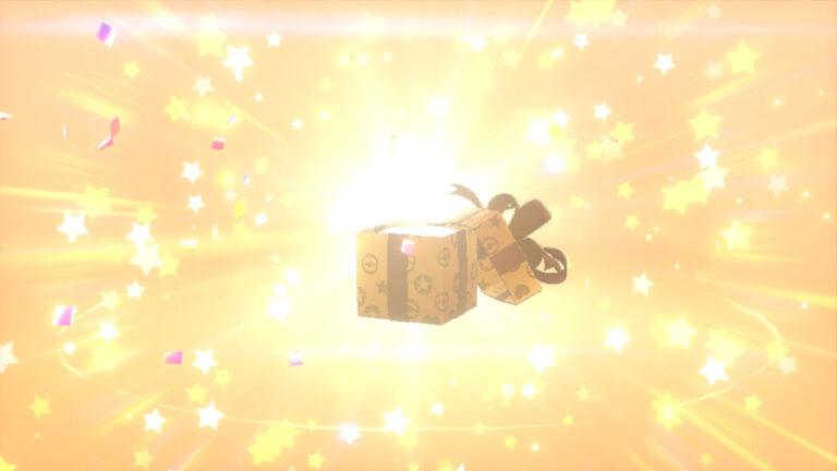 Новая раздача в Pokemon Sword и Pokemon Shield