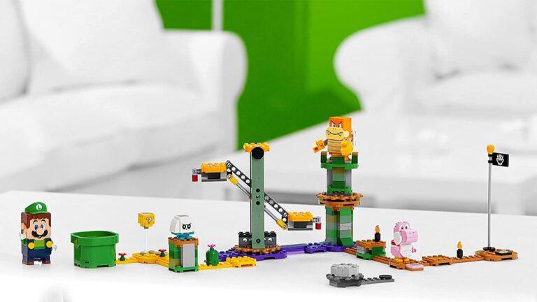 Стартовый набор LEGO Super Mario с Луиджи слили в сеть