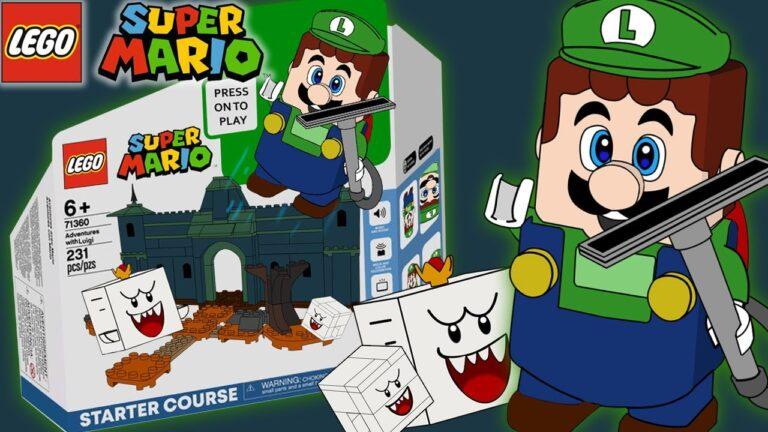 LEGO и Nintendo готовят стартовый набор с Луиджи